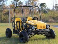 125cc wrangler go karts for sale - two seater,