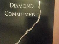 I have a diamond trip bracelet. It can be seen on the