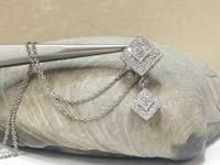 1/2CTW elegant princess and round diamond vintage