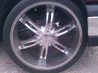 Clean rims with great tires call or text me at  the