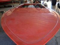 Hondo Runner Bottom paints in terrific shape there is