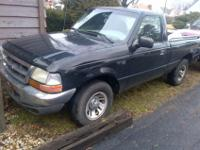 FOR SALE = 1998 FORD RANGER Pick-Up Truck (single-cab).