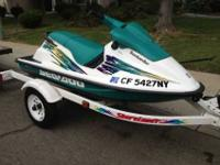 I have a 1996 seadoo that I bought pre-owned and only