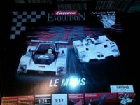 Carrera Evolution LeMans set, over $250 in track and