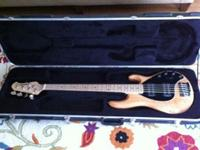 For sale is a 5 string Ernie Ball MusicMan Bass in