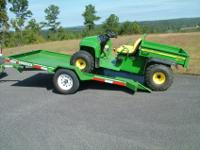 New (2) 5x12' SideKick Tilt Trailer with MSOHaul
