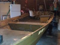It was my Project boat, I don't have time to paint it