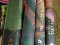 I have the 1st 4 Harry Potter books, they are all in
