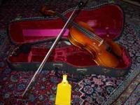 FOR SALE German Violin (Geigenbaumeister Bubenreuth