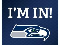 I have 4 tickets to the Seahawks vs St. Louis Rams game