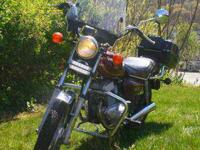 Honda Twinstar 1980 200cc CM200T. Nice condition, some