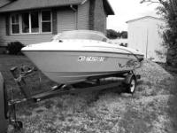 You are looking at a 1994 Bayliner speed boat. The
