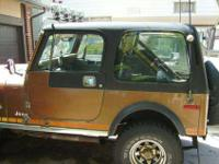 Black Full Hard Top and Steel Hard Doors fits 88