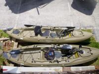 Pair of Hobie Mirage Outback Kayak's $1400 EachPut more