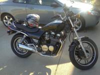 I have a 1984 Honda Nighthawk 650 for sale in good