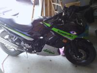 2005 Ninja 250, around 4500 miles. Black, green and