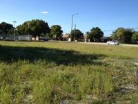 1.43 acres of land composed of 3 lots. Excellent corner