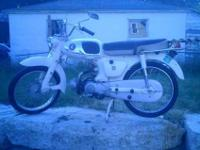 Up for Sale or Trade ismy 1965 Honda S65. Bike runs and