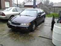 1995 Honda Accord LX 4 door four cylinder Automatic