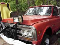 1969 gmc 4wd shortbed this truck ran last year it needs