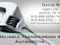 Trustworthy Transmissions has an excellent discounted