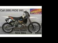 2001 KTM 300 MX motocross motorcycle for sale with Pro