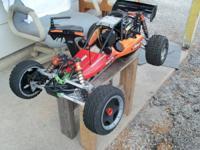 Got Rovan Brand HPI/KM appropriate radio control buggy
