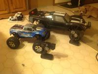 up for sale or trade I have 2 rc trucks. I got these on