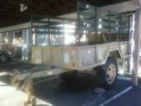 1.5 Ton Cargo Trailer With Hydraulic Lift Gate Need a