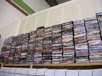 We have hundreds and hundreds of dvds for sale. And you