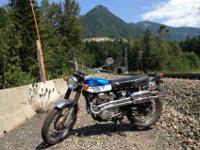 I have a '70 Honda CL 350 Scrambler for sale. These are