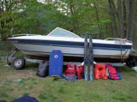 1986 bowrider 17' 3.0l /w trailer Ran very good when I