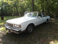 Mom's 1987 Classic Caprice is for sale!!!!! This car