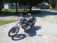 This is a nice 88 Yamaha Virago Route 66, It just had