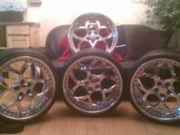 20'' SET OF MAYA LTD'S FOR SALE!!!!!!!!!!!!!! WHEELS