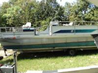 BOAT NEEDS TLC BUT YOU CAN USE IT NOW. HAS NO FURNITURE