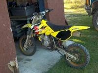 I have a 2005 Suzuki RM 85, It has a brand new bottom
