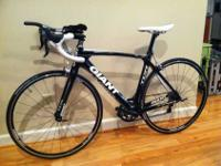 I am selling my 2011 Giant Composite TCR II. The bike