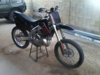 for sale is a very nice well maintained CR250 with a