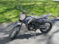 APOLLO 250CC, Air cooled, Single cylinder, 4 stroke,