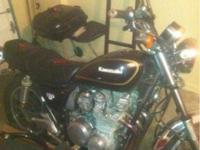 Classic Bike, 1982 Kawasaki 750cc. Recently I had this