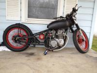 I have a cb550 for sale of $1500The bike does run but