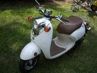 I am selling a used 2009 Yamaha Vino Classic scooter