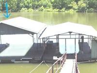 "24'x 30' Single Slip Boat Dock, Slip is 11-10"" x 26-FT,"