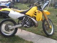 i have a nice ready to ride 1996 suzuki rmx250. its is
