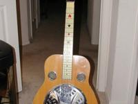 The ShoBro, a resonated guitar , was first manufactured