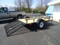 HIGH QUALITY TRAILERS BUILT IN MICHIGAN *3500LB AXLE