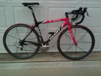 I'm selling my Gaint TCR carbon road bike. This is a