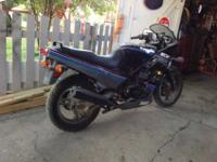WE HAVE TWO MOTORCYCLES KAWASAKI EX500, YEARS 1990 AND