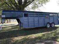 1989 stock horse trailer. 20 ft dressing room with